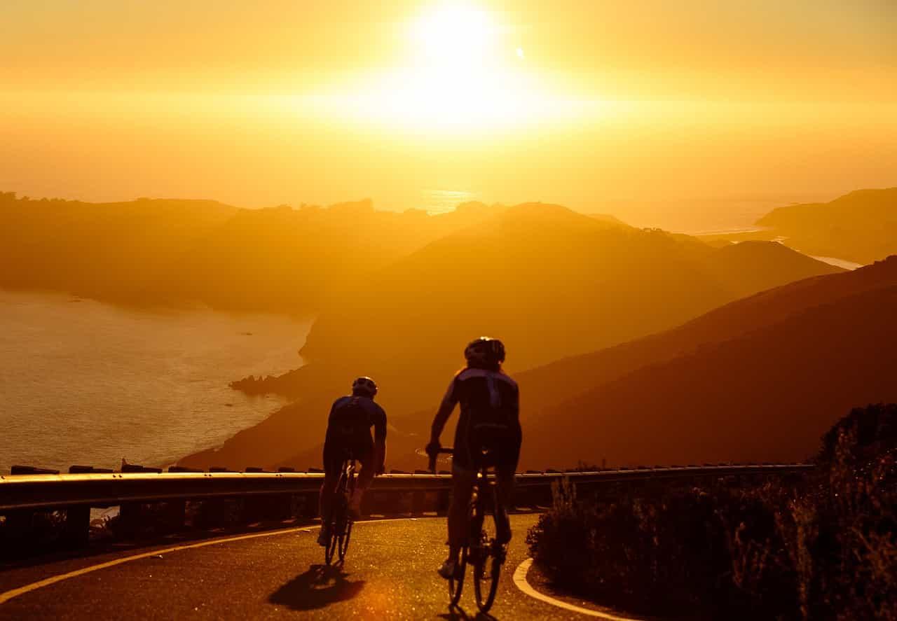 Is Mountain Biking Safer Than Road Biking