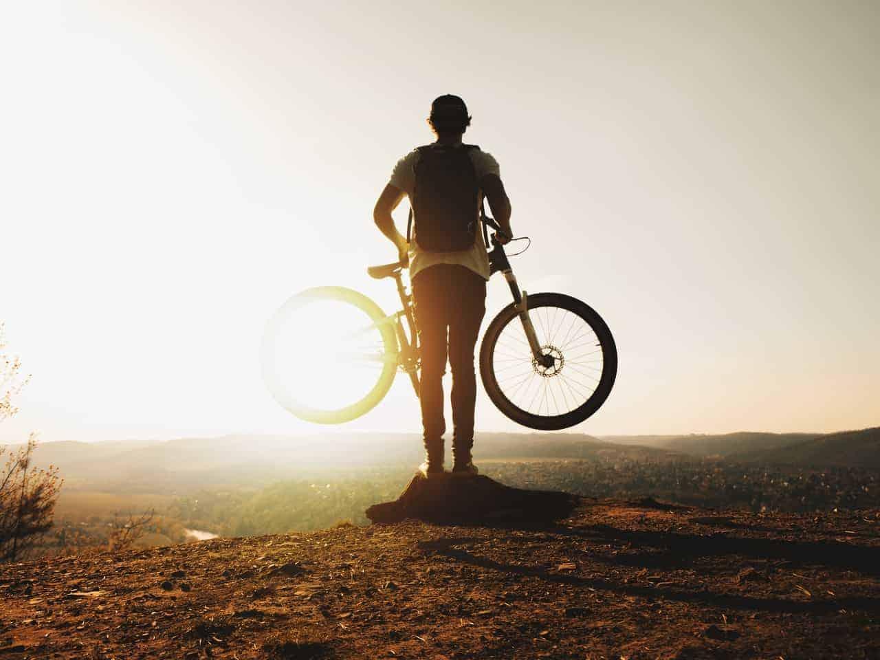 average weight of a mountain bike